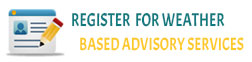 Register for weather based advisory services, External link that will open in new window