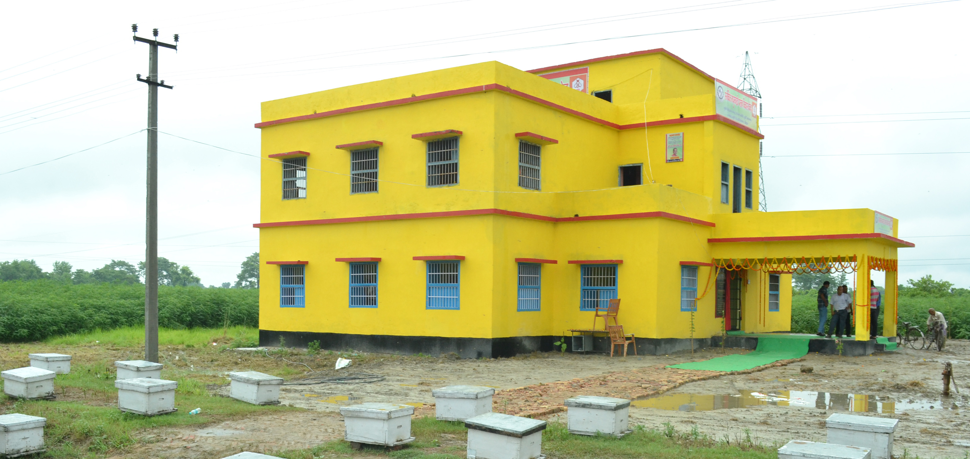 IDBC, Piprakothi -Building